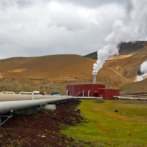 Science answer: GEOTHERMAL