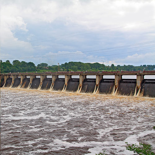 Science answer: HYDROELECTRIC