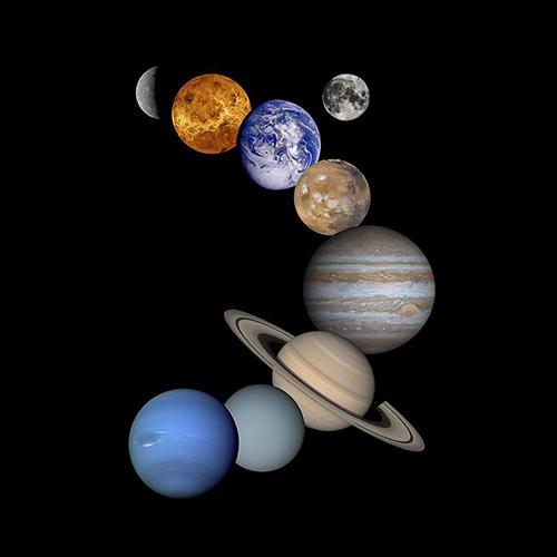 Science answer: SOLAR SYSTEM