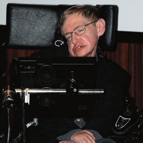 Science answer: STEPHEN HAWKING