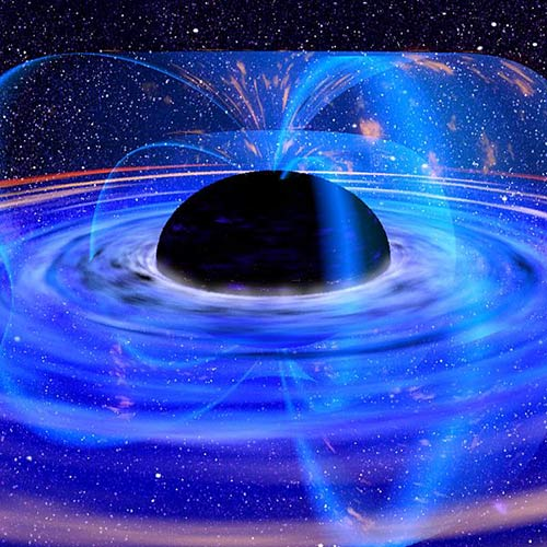 Science answer: BLACK HOLE