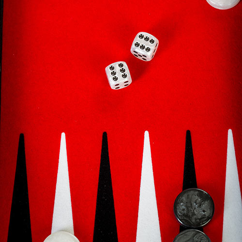 Secret Agent answer: BACKGAMMON