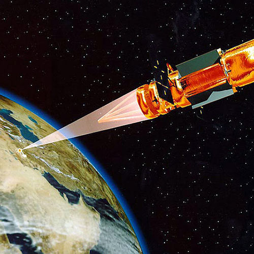 Secret Agent answer: LASER SATELLITE