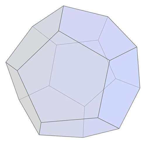 Shapes answer: DODECAHEDRON