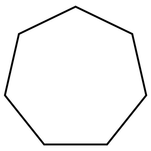Shapes answer: HEPTAGON