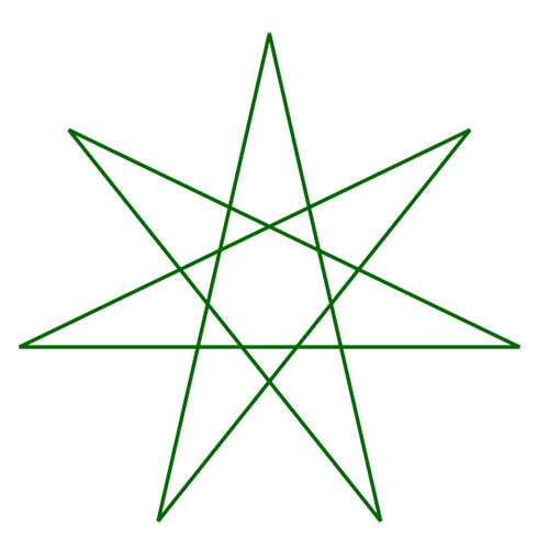 Shapes answer: HEPTAGRAM