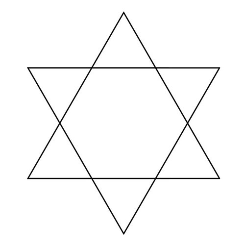 Shapes answer: HEXAGRAM