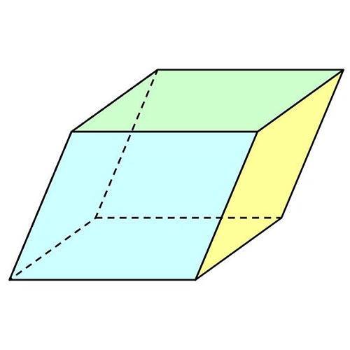 Shapes answer: PARALLELEPIPED