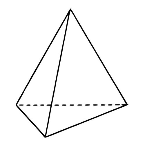 Shapes answer: TETRAHEDRON