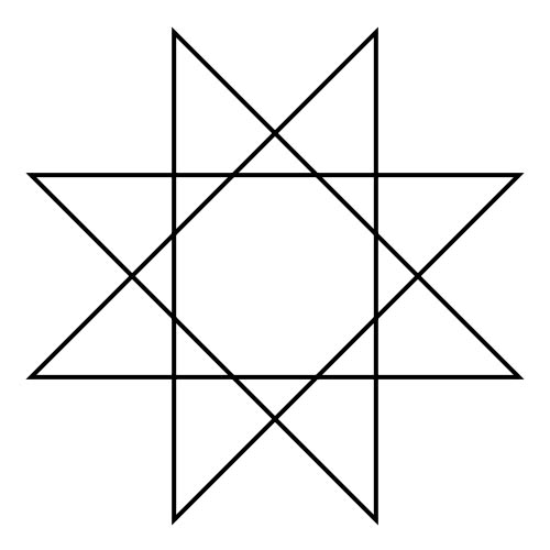 Shapes answer: OCTAGRAM
