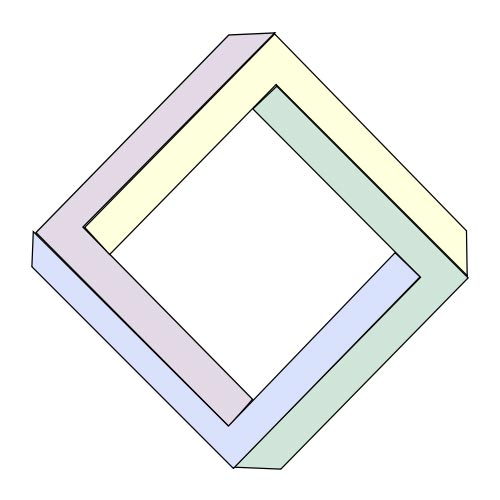 Shapes answer: PENROSE SQUARE