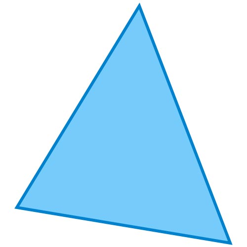 Shapes answer: TRIANGLE