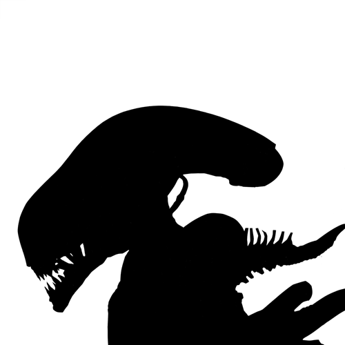 Silhouettes answer: ALIEN