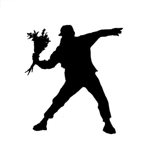 Silhouettes answer: BANKSY