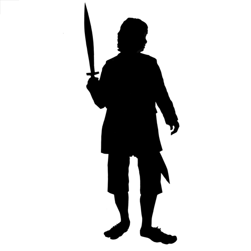 Silhouettes answer: BILBO BAGGINS