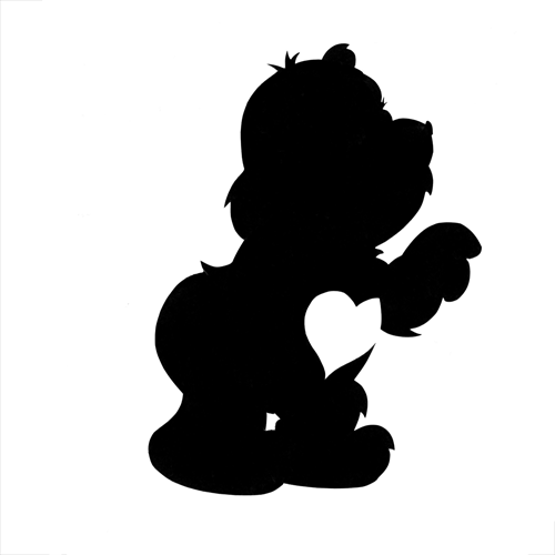 Silhouettes answer: CARE BEAR