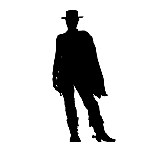Silhouettes answer: CLINT EASTWOOD