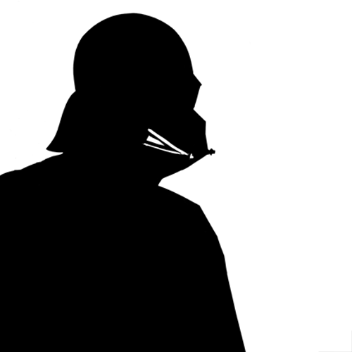 Silhouettes answer: DARTH VADER