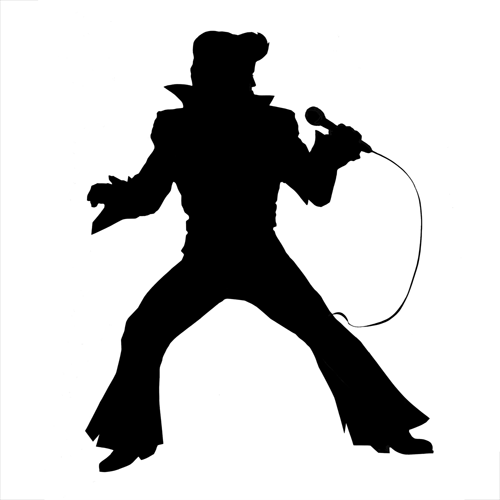 Silhouettes answer: ELVIS PRESLEY