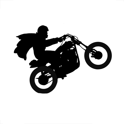 Silhouettes answer: EVEL KNIEVEL
