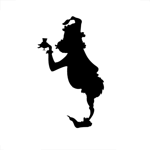 Silhouettes answer: GRINCH