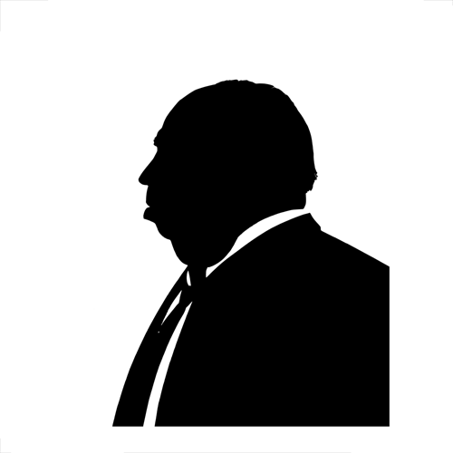 Silhouettes answer: HITCHCOCK
