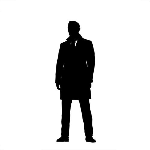 Silhouettes answer: JAMES BOND
