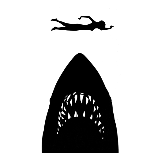 Silhouettes answer: JAWS