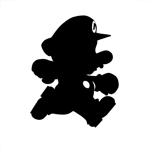 Silhouettes answer: MARIO