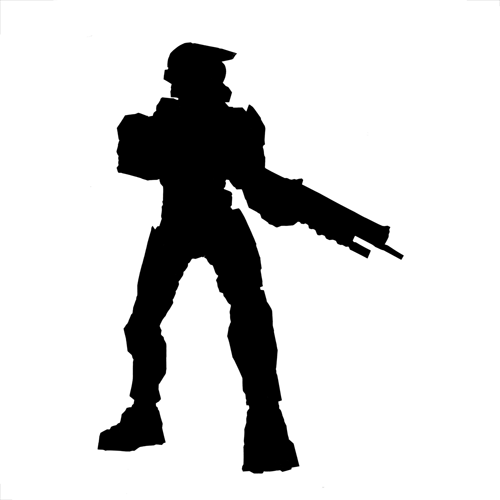 Silhouettes answer: MASTER CHIEF