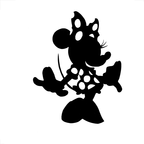 Silhouettes answer: MINNIE MOUSE