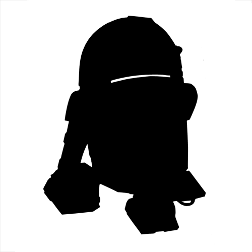 Silhouettes answer: R2-D2