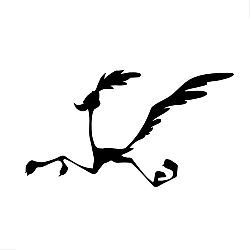 Silhouettes answer: ROAD RUNNER