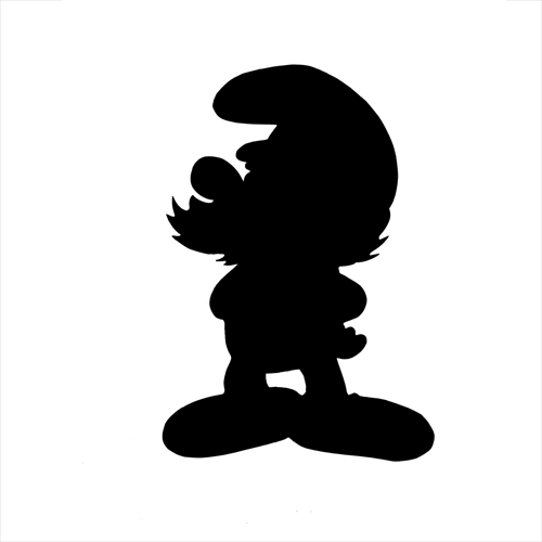 Silhouettes answer: PAPA SMURF