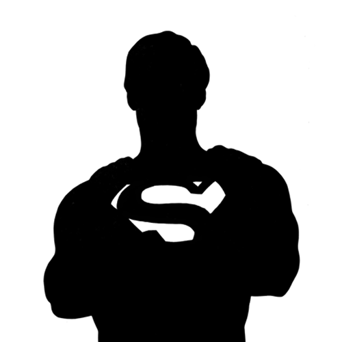 Silhouettes answer: SUPERMAN