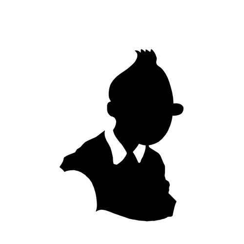 Silhouettes answer: TINTIN