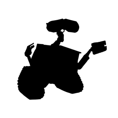 Silhouettes answer: WALL-E