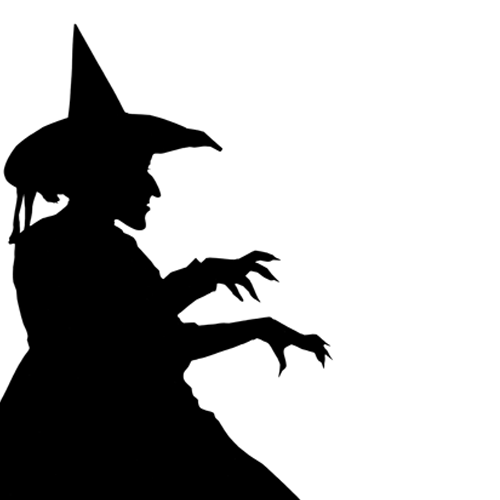 Silhouettes answer: WITCH