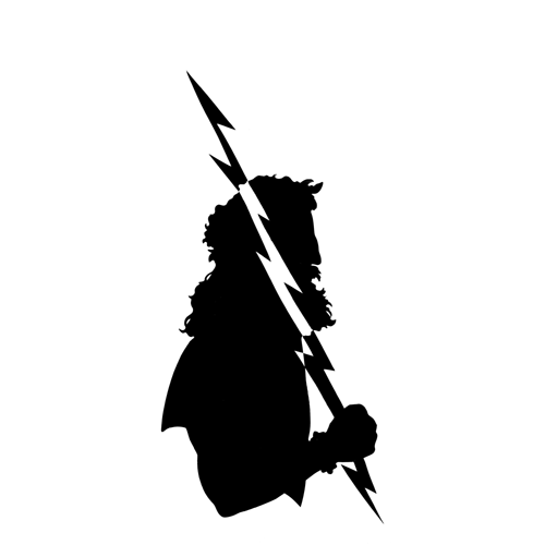 Silhouettes answer: ZEUS