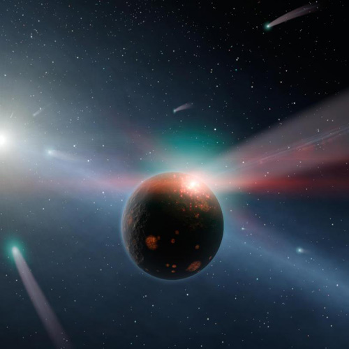 Space answer: COMETS