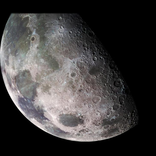 Space answer: HALF MOON