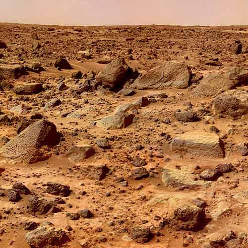 Space answer: MARS SURFACE