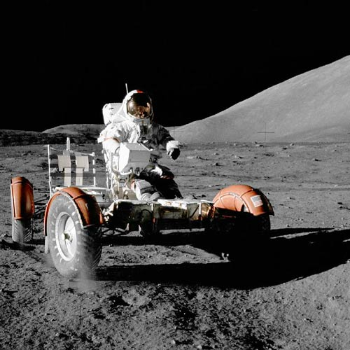 Space answer: MOON BUGGY