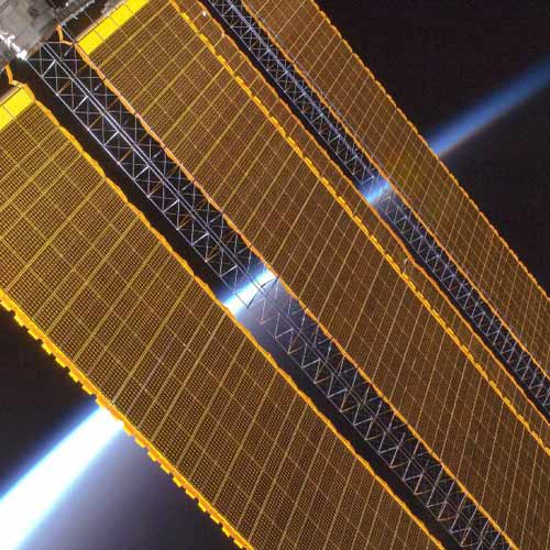 Space answer: SOLAR PANELS