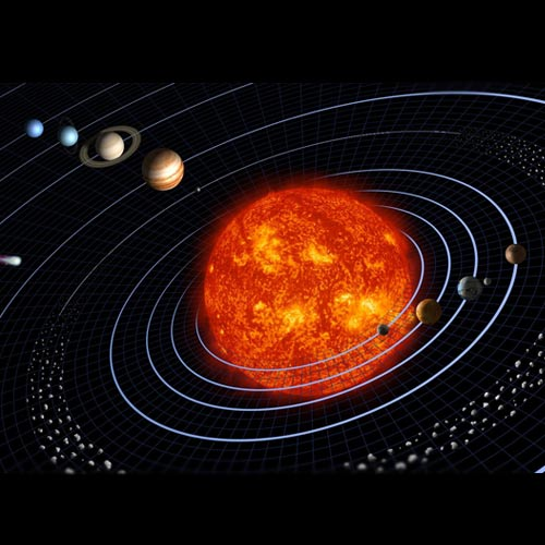 Space answer: SOLAR SYSTEM