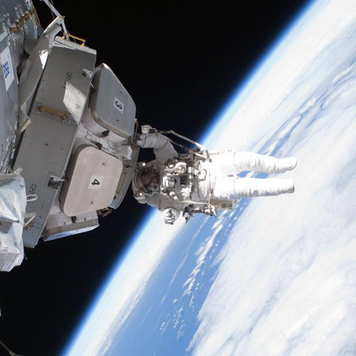 Space answer: SPACEWALK