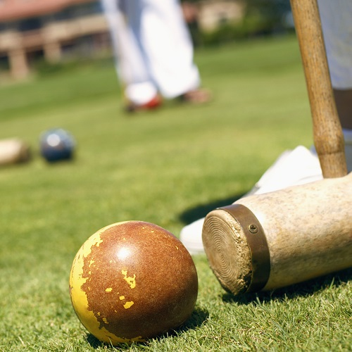 Sports answer: CROQUET