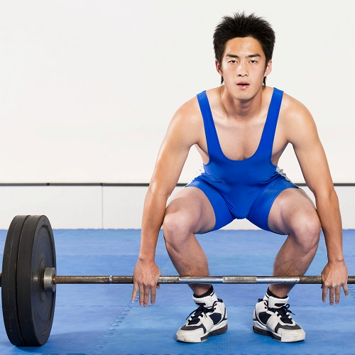 Sports answer: WEIGHTLIFTING