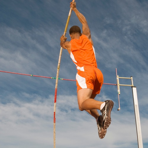 Sports answer: POLE VAULT