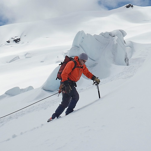 Sports answer: MOUNTAINEERING